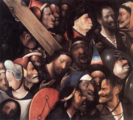 Иероним Босх. Несение креста