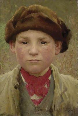 George Clausen. Rural boy