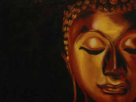 Alexey Chernov. Golden buddha
