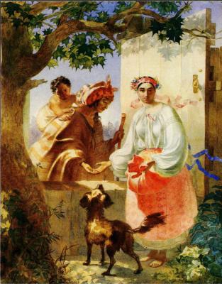 Taras Grigorievich Shevchenko. Gypsy fortune-teller