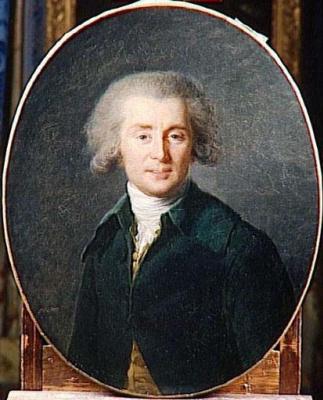 Elizabeth Vigee Le Brun. Portrait of the composer andré Ernest modest Gretry