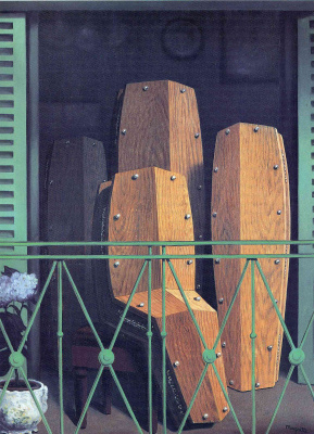 René Magritte. Perspective: The Balcony By Manet