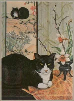 Джоан Кристенсен. Черный кот