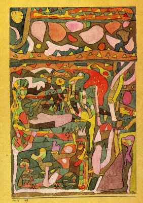 Paul Klee. Sunshine and flowers
