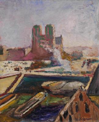 Henri Matisse. Notre Dame de Paris