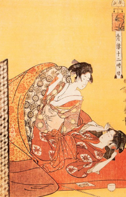Kitagawa Utamaro. The hour of the dragon