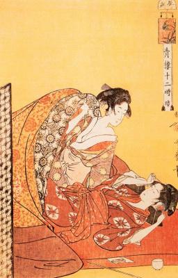 Китагава Утамаро. Час дракона