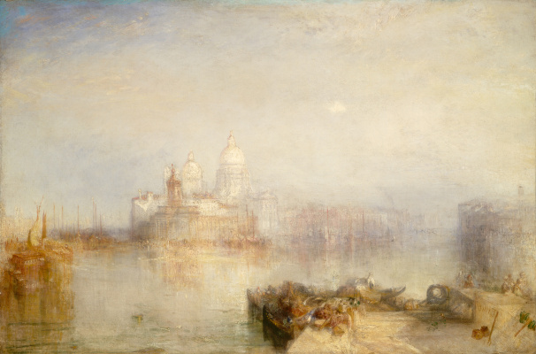 Joseph Mallord William Turner. Dogana and Santa Maria della Salute in Venice