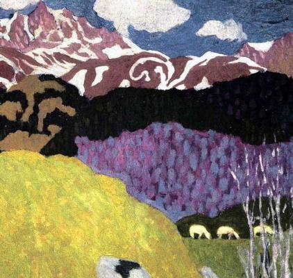 Джованни Джакометти. Весна в горах