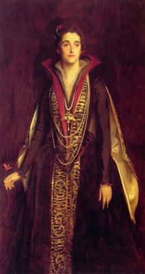 John Singer Sargent. The Countess of Rocksavage