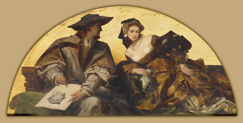 Hans Makart. Hans Holbein