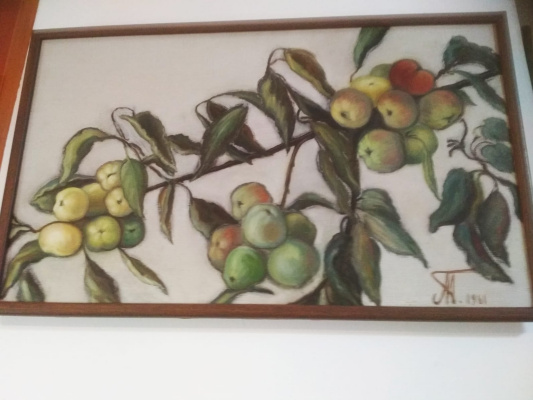 Ada Izrailevna Poberezhskaya. Branch with apples