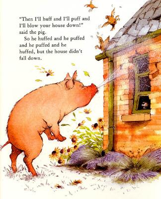 Хелен Охенбуру. Три маленьких волчонка и большой плохой свин 17