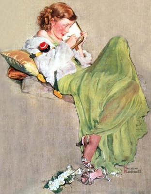 "Norman Rockwell. Diary. Cover of ""The Saturday Evening Post"" (June 17, 1933)"
