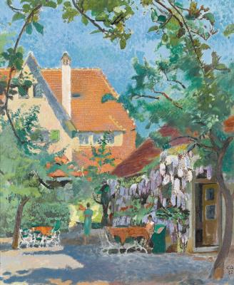 Cuno Amiè. House painter