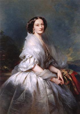 Franz Xaver Winterhalter. Countess Eliza Krasinska, born of Branicka