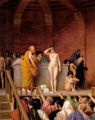 Жан-Леон Жером. Продажа рабов