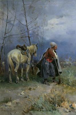 Сергей Иванович Васильковский. Казак в дозоре