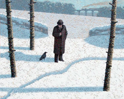 Марк Эдвардс. Man and raven