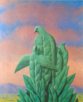 René Magritte. Natural graces