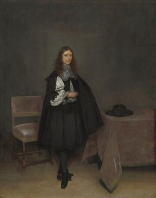 Gerard Terborch (ter Borch). Portrait of Gerhard van Suhtelen