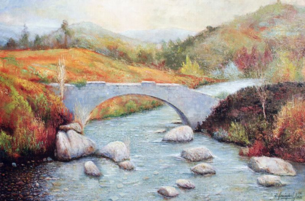 Карлос Фернандес Иглесия. Осенний пейзаж