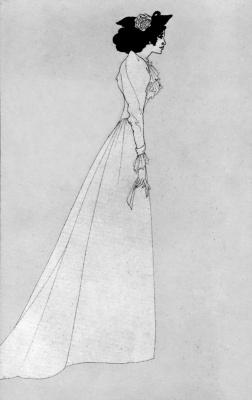Aubrey Beardsley. Mrs. Patrick Campbell