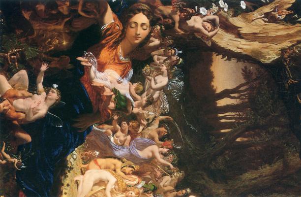 Джозеф Ноэль Патон. Примирение Оберона и Титании