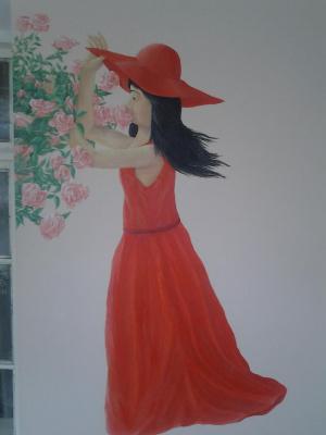 Mihran Mkrtumyan. Мой рисование на стене