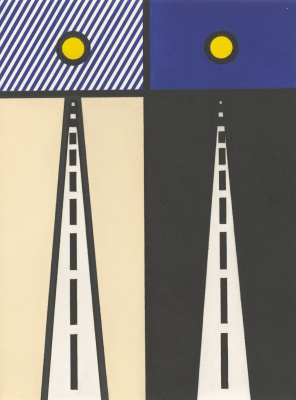 Roy Lichtenstein. New fall of America. Sheet 17