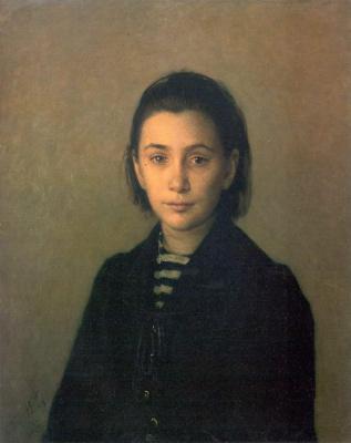Nikolai Nikolaevich Ge. Portrait Of Olga Pavlovna Kostyczewii