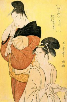 Kitagawa Utamaro. The Hour Of The Ox