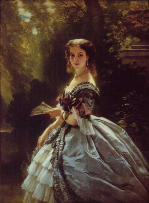 Franz Xaver Winterhalter. Princess Elizabeth Esperava beloselskaya-Belozerskaya, Princess Trubetskaya