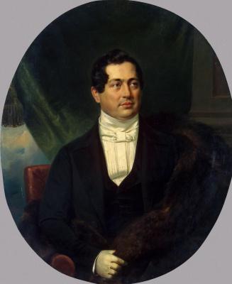 Франц Крюгер. Портрет Волконского