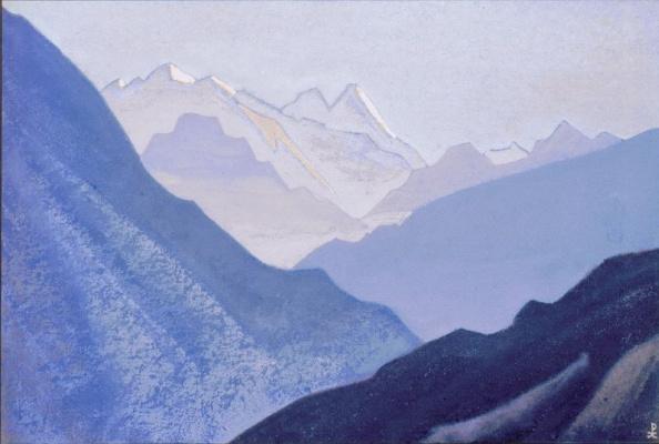 Nicholas Roerich. Rattan (Breath of dawn)