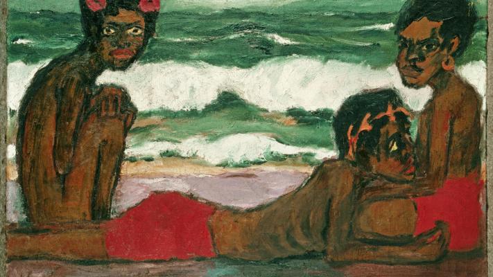 Emil Nolde. Children Papuans