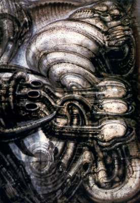 Hans Rudolph Giger. Space trip