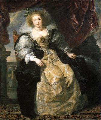 Peter Paul Rubens. Elena Forman in a wedding dress