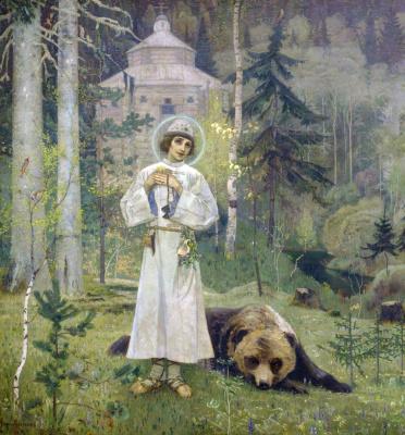 Mikhail Vasilyevich Nesterov. Youth Of St. Sergius Of Radonezh