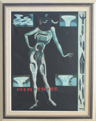 Minotaure (Salvador Dali)