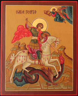 Andrey Vladimirovich Shapkin. Icon George the Victorious