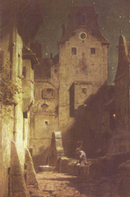 Карл Шпицвег. Уснувший ночной сторож