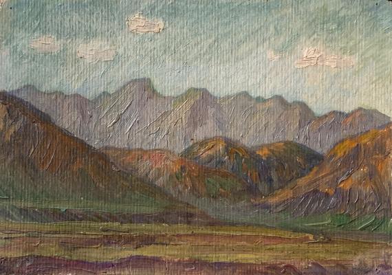Oleg Alekseevich Dmitriev. The mountains