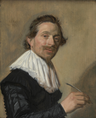 France Hals. Portrait of Jean de La Chambre at the age of 33 years