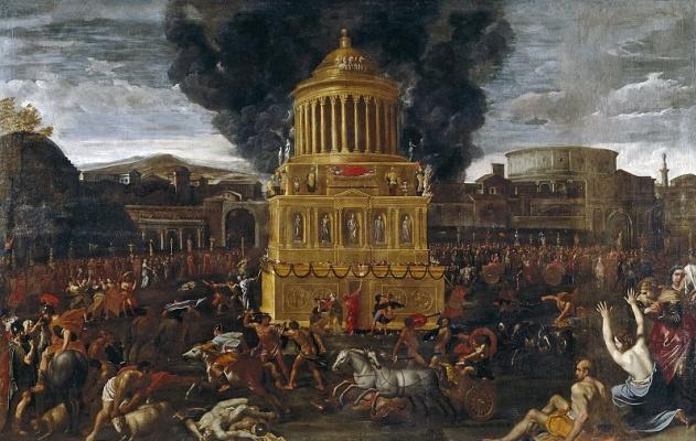 Доменикино . Похороны римского императора