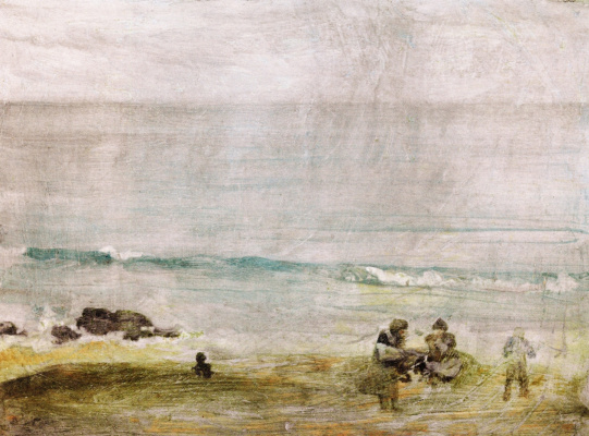 James Abbot McNeill Whistler. St. Ives: the Beach