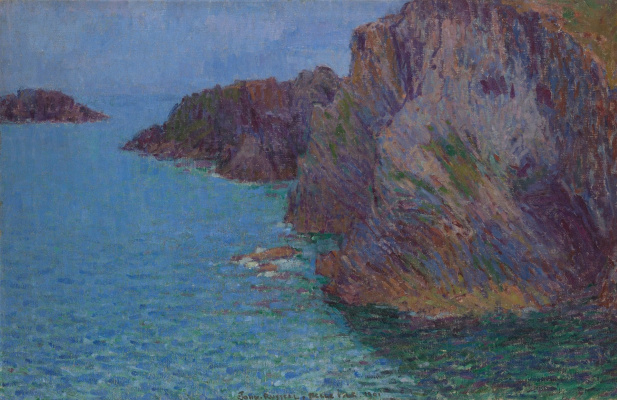 John Peter Russell. Calm sea at Morestil Point