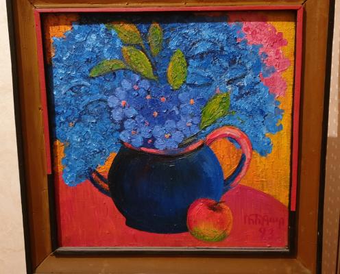 Robert Patwakanovich Gyulazyan. Still-life with flowers