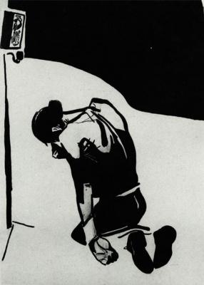 Припекло. Рисунок для журнала «Безбожник у станка»