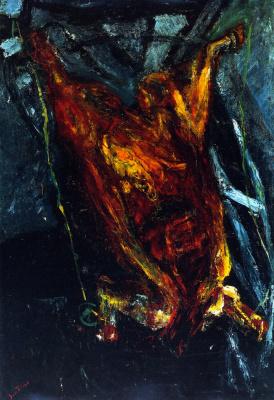Chaim Soutine. Carcass